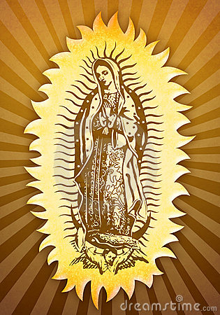 Free Virgin Mary Of Guadalupe Stock Photos - 22055033