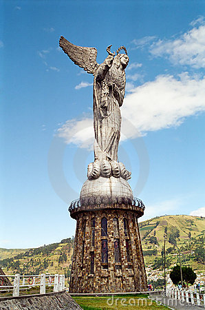 The Virgin Mary of Quito statue, Ecuador