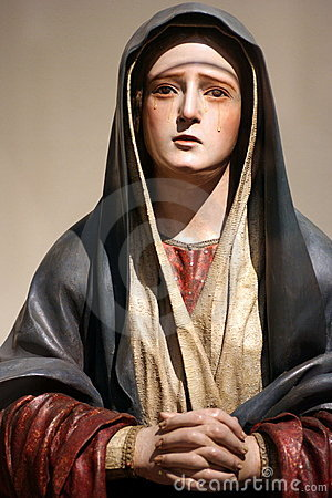 Free Virgin Mary Statue Stock Photo - 22639610