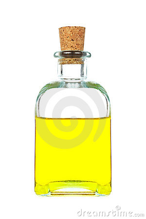 Virgin olive oil bottle