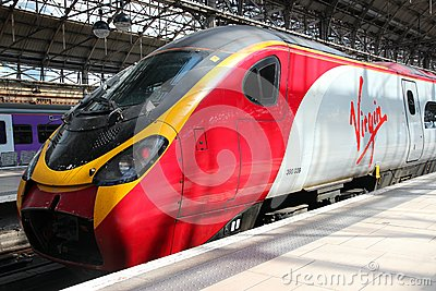 Virgin Trains Editorial Photo