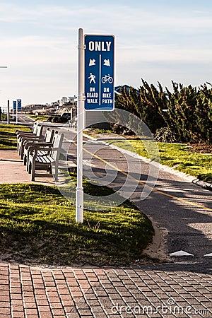 Virginia Beach Oceanfront Bike Path
