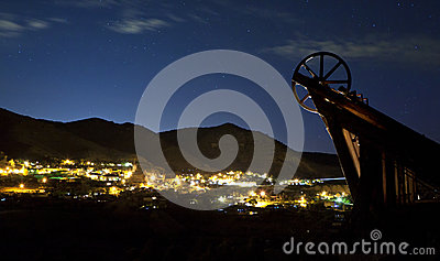 Virginia City Night
