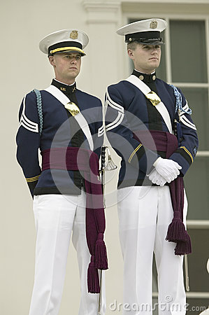 Virginia Tech Corps of Cadets Editorial Stock Photo