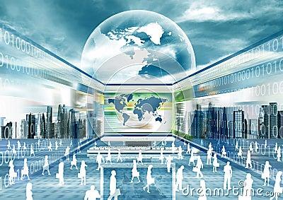 Virtual Business World