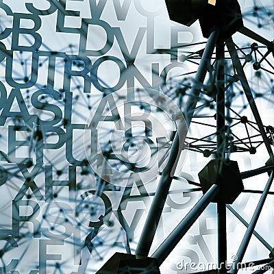 Virtual construction background