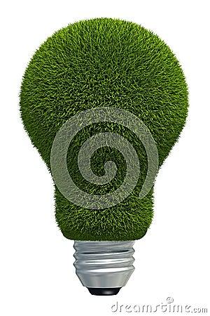 Virtual grass bulb