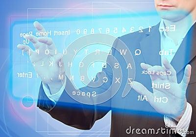 Virtual Keyboard.