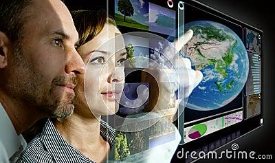 Virtual Screen 3D