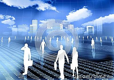 Virtual world of internet business