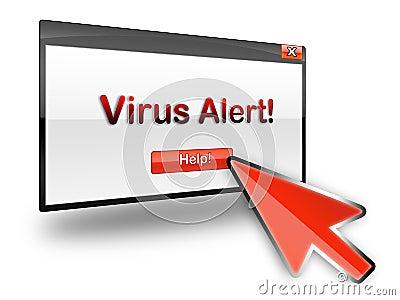 Virus alert help
