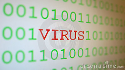 Virus on binary code