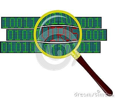Virus in software