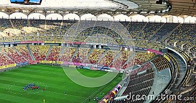 Visão geral do Estádio Nacional de Arena filme