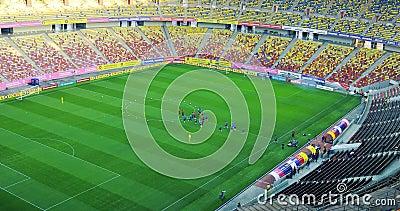Visão geral do Estádio Nacional de Arena vídeos de arquivo