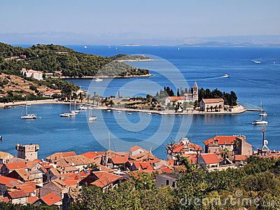 Vis port-Croatia