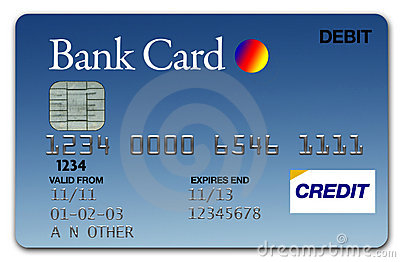 Visa Card Blue