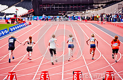 Visa London Disability Athletics Challenge Editorial Image