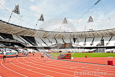 Visa London Disability Athletics Challenge Editorial Stock Image