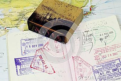 Visa Stamp on Passport