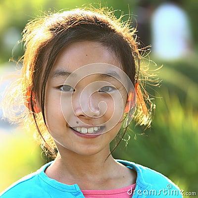 visage chinois d 39 enfant photos libres de droits image 14890418. Black Bedroom Furniture Sets. Home Design Ideas