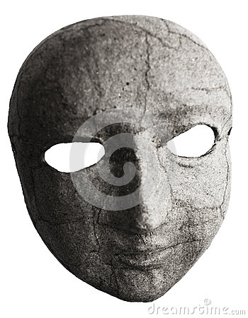Visage De Masque Photo libre de droits - Image: 28521505