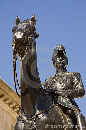 Free Viscount Garnet Wolseley Statue Royalty Free Stock Photography - 20007417