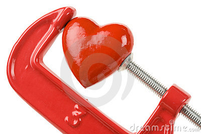 Vise Grip and red heart
