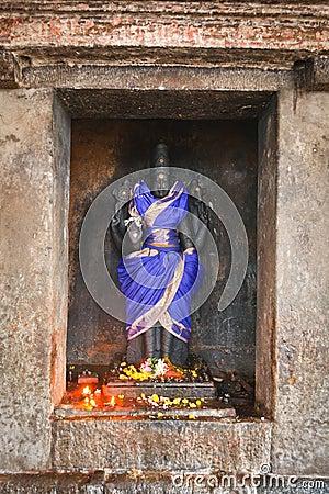 Vishnu  image, bas relief