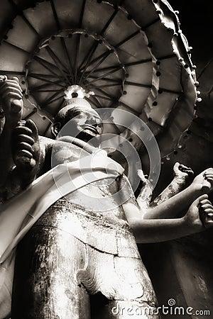 Free Vishnu Statue At Angkor Wat Stock Photo - 12323950