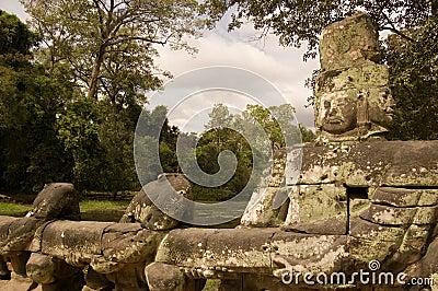 Vishnu Statue, Preah Khan Temple, Angkor