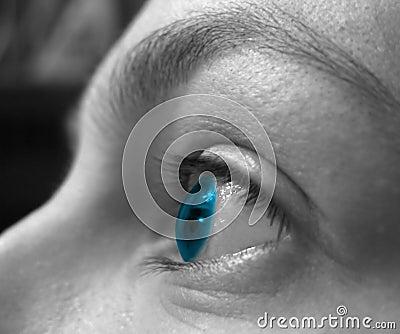 Vision för 2 blue