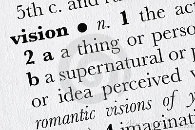 Vision word dictionary definit