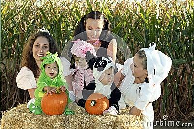 Visit to a Pumpkin Patch