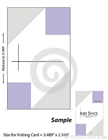 Visiting Card Template - 1