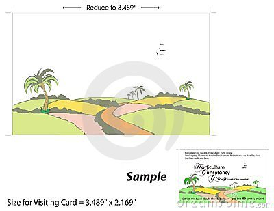 Visiting Card Template - 2