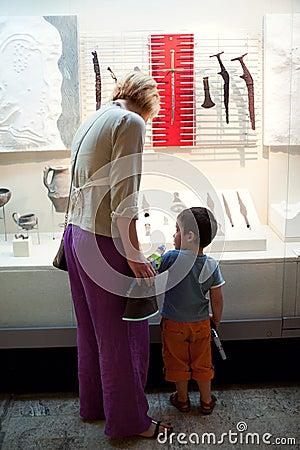Visiting museum Editorial Photo
