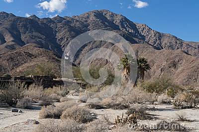 Visitor Center at Anza Borrego State Park