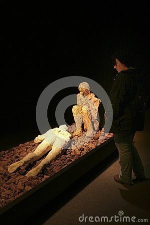 Credit Cards For Fair Credit >> Visitor Observing Human Victim Body Cast Editorial Stock Image - Image: 62835344