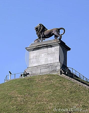 Free Visitors At Lion S Mound, Waterloo, Belgium. Royalty Free Stock Image - 51530426