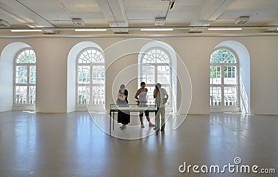 Visitors at d13 Editorial Image