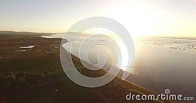 Vista aérea de un campo francés metrajes