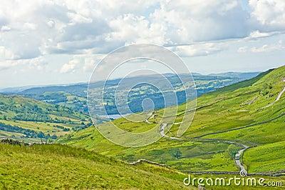 Vista da passagem de Kirkstone.