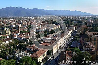 Vista de Pise Italie