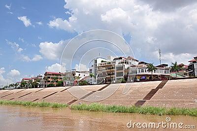 Vista della Cambogia Phnom Penh