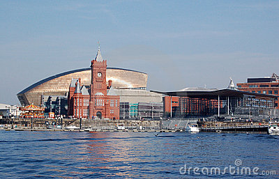 Vista do louro de Cardiff