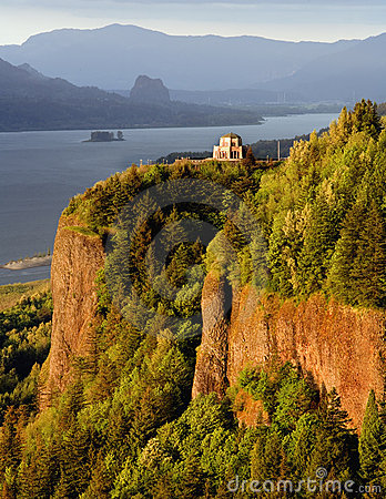 Free Vista House, Columbia River Gorge Stock Image - 1934261