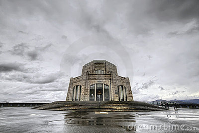 Vista House on Crown Point