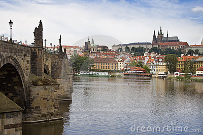 Vista of Prague