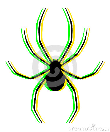 Visual color spider